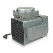 GAST DOA-P707-FB Compressor/Vacuum Pump,1/3 HP,50/60 Hz,