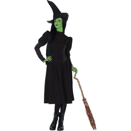 Morris Costumes Womens Elphaba Witch Adult Medium Halloween Costume