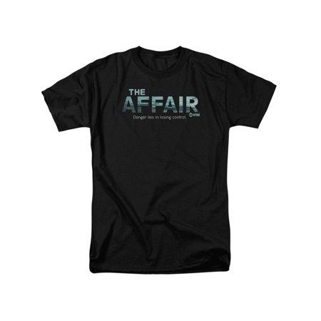 The Affair Showtime Drama Series Ocean Logo Adult T-Shirt