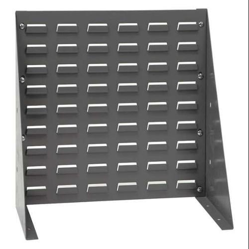 QUANTUM STORAGE SYSTEMS QBR-1819CO Louvered Bench Rack, 18 x 8 x 19 In