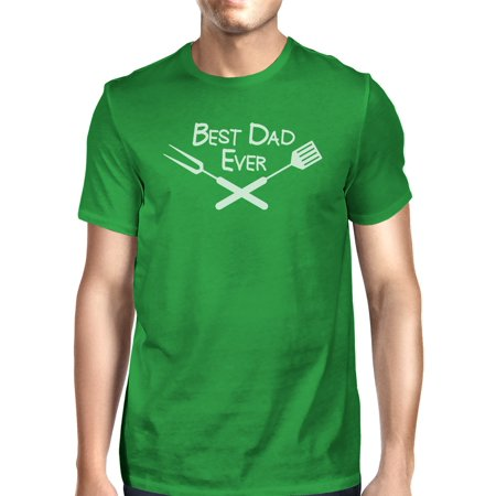 Best Bbq Dad Green Graphic T-shirt For Men Funny Gift Ideas For (Best Bbq Menu Ideas)