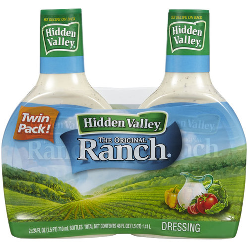 Hidden Valley The Original Ranch Dressing, 24 fl oz, (Pack of 2)