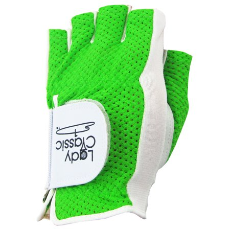 Lady Classic Cabretta Mesh Half Glove