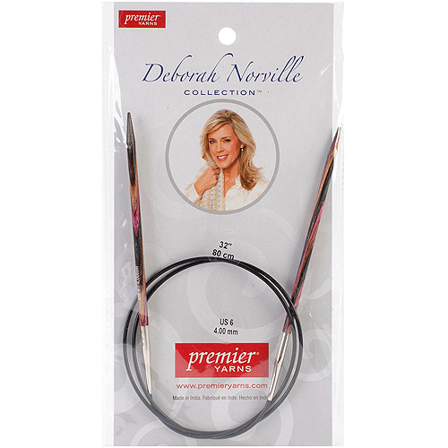 Premier Yarns DNN83-9 Deborah Norville Fixed Circular Needles, 32-Feet Multi-Colored