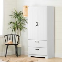 Product Image South S Farnel Wardrobe Armoire White