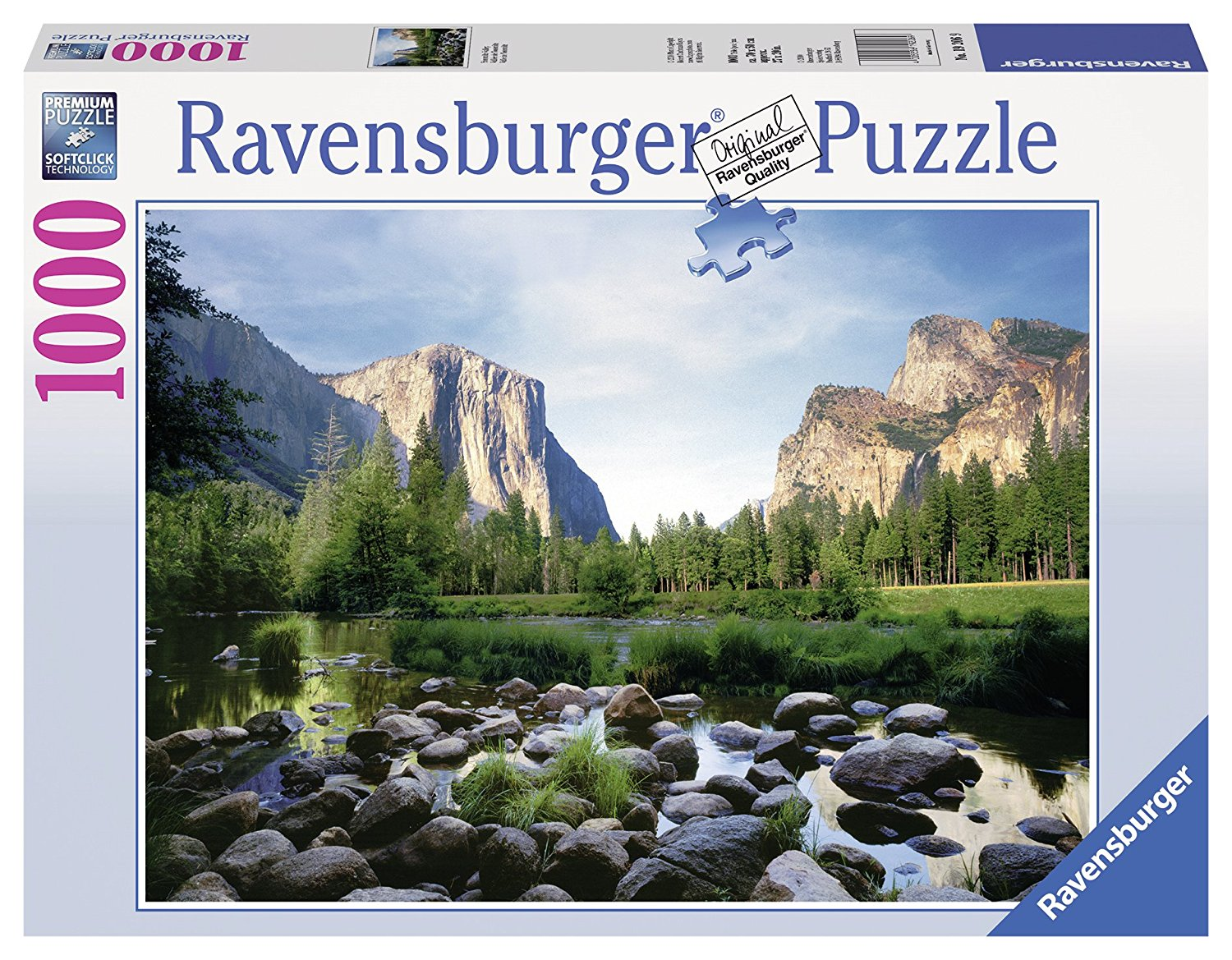 Yosemite Valley 1000 Piece Puzzle, Since 1891 we've been making the finest puzzles in Ravensburg, Germany By... by