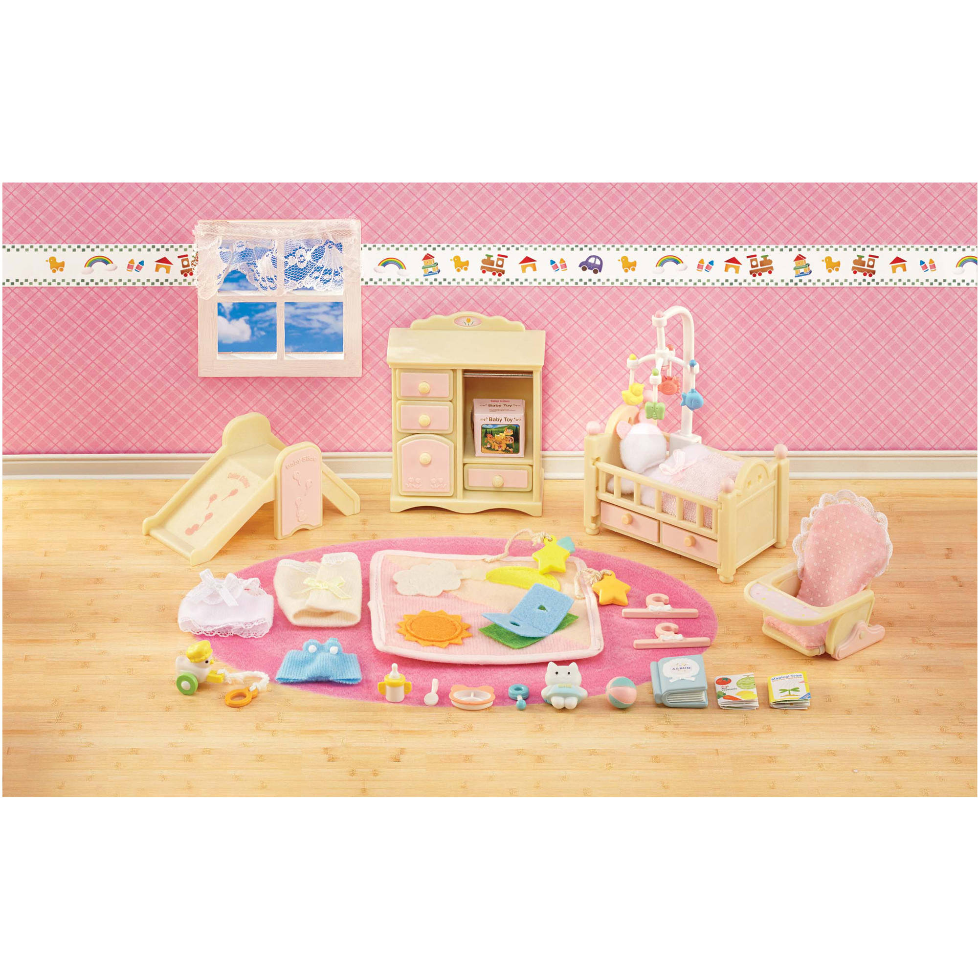 Calico Critters Baby S Nursery Set