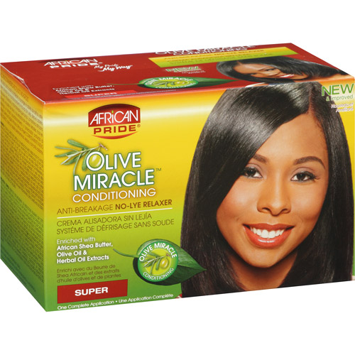 African Pride Olive Miracle Conditioning Anti-Breakage Super No-Lye Relaxer