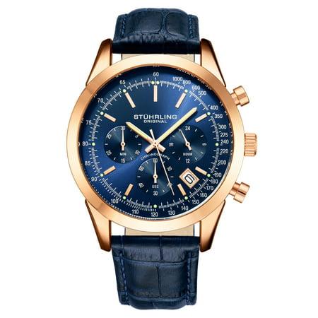 RaceTrackr Series : 3975L.7, 2 Pusher, 3 Subdial Japanese Quartz Chronograph Mens Watch With Flexi-Mesh Ultra-Comfortable Bracelet 10ATM Black Mesh Bracelet Watch