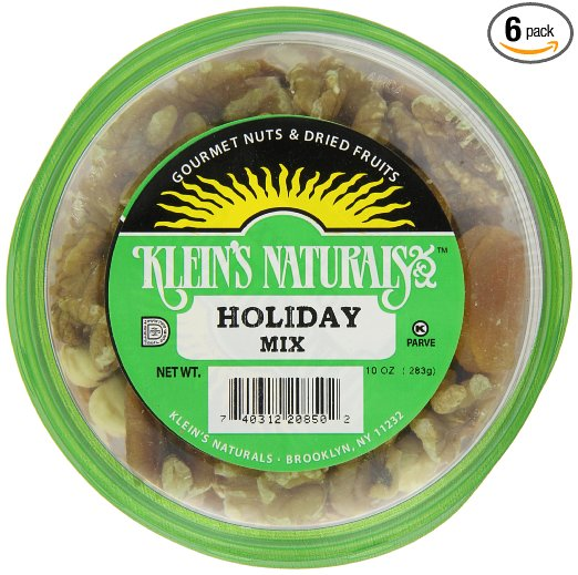 Klein's Natural Foods Holiday Mix, 10-Ounce (Pack of 6)