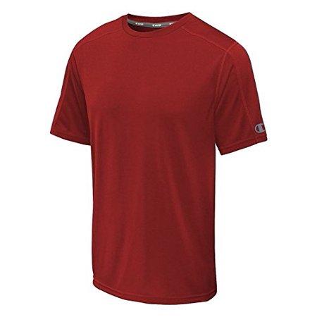 7777f20c Champion - Men's Big-Tall Powertrain Solid T-Shirt (Red, 5XL) - Walmart.com