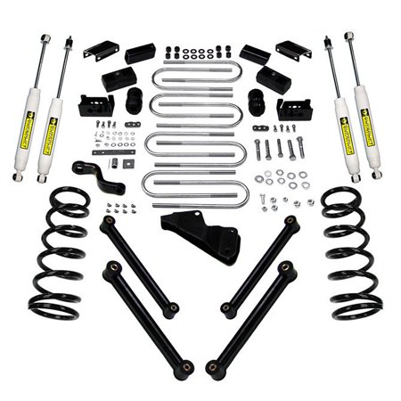SuperLift 6 inch Lift Kit - 2010-2013 Dodge Ram 2500 and 2010-2012 3500 4WD - Diesel Engine - with Superide (Best Shocks For Dodge 3500 Diesel)