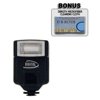 - 318AF Digital Slave Flash For Use For The Fujifilm FinePix S9000, S7000, S3 Pro, S20 Pro, S2 Pro, S602 Digital Cameras, Includes Flash Bracket By saker,USA