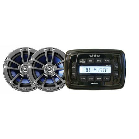 Seaworthy, Jbl & Jvc INF-MPK250 Infinity Am/Fm/Usb/Bt Stereo