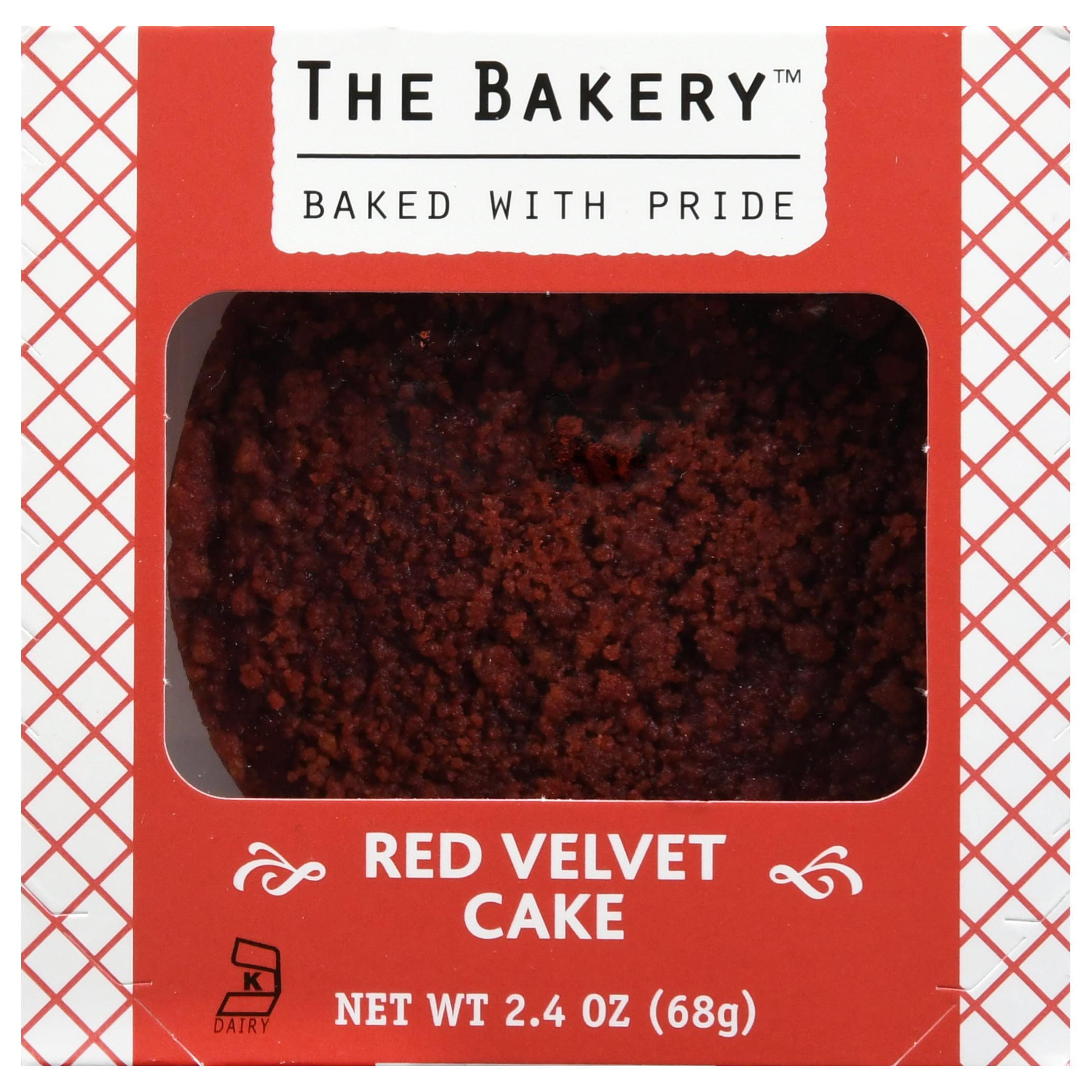 The Bakery Red Velvet Cake, 2.4 oz
