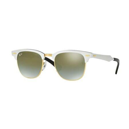 6d2989e8e6cee RAY-BAN - Ray-Ban Clubmaster Aluminum Flash Lenses Gradient Sunglasses