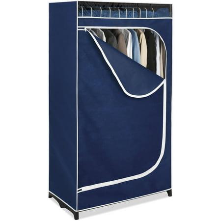Whitmor Portable Clothes Closet (Organizing A Small Closet With Sliding Doors)