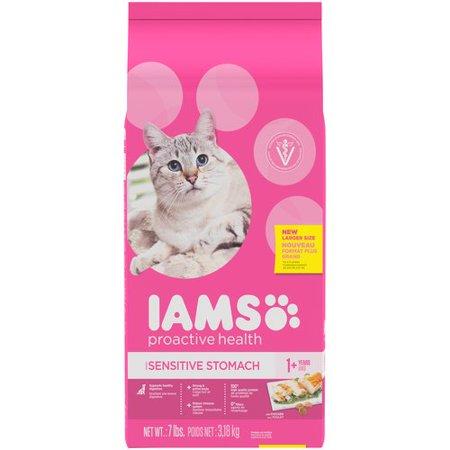Iams Adult Cat Food Dry  Lb Bag