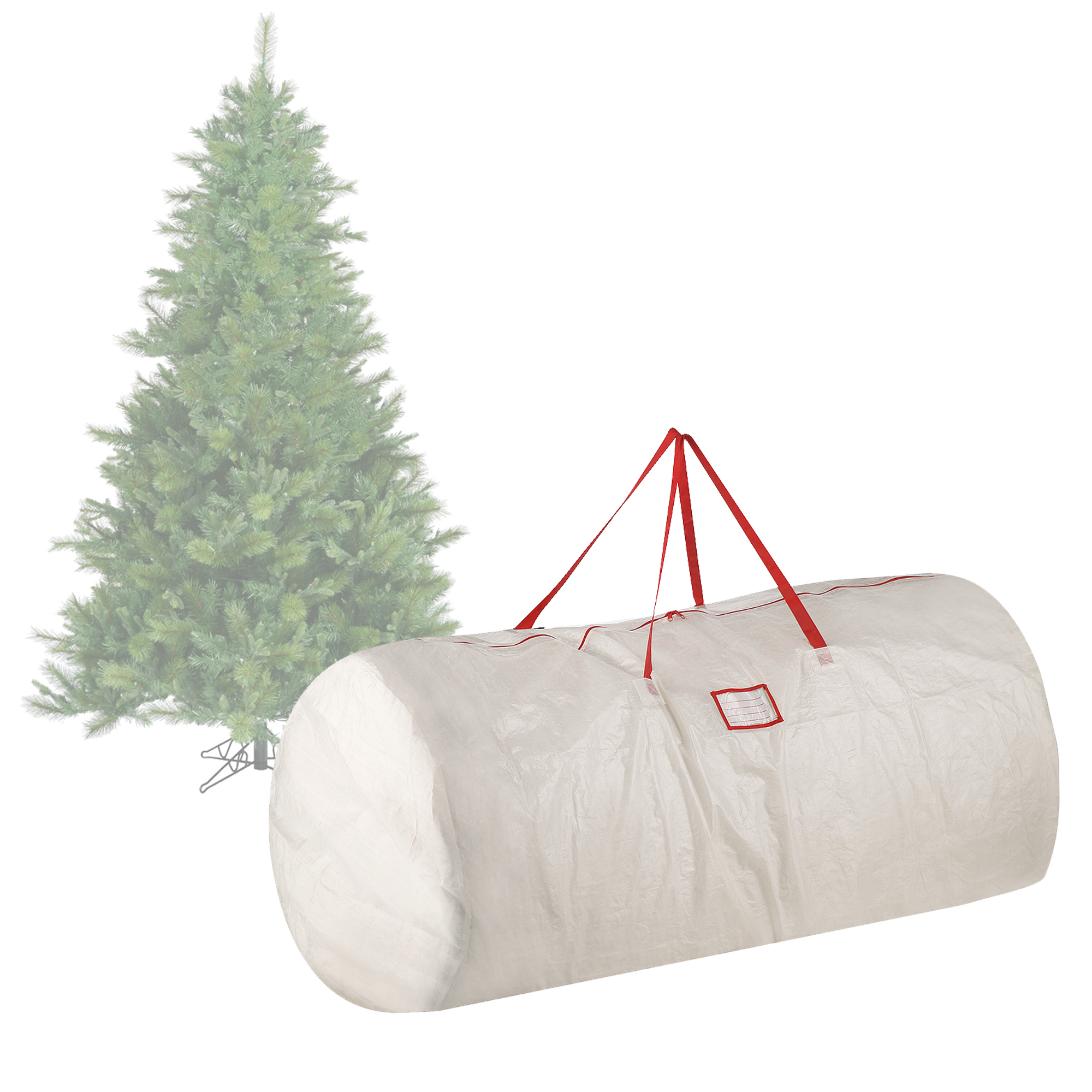 Christmas Tree Bags.Elf Stor Premium White Holiday Christmas Tree Storage Bag Large For 9 Foot Tree