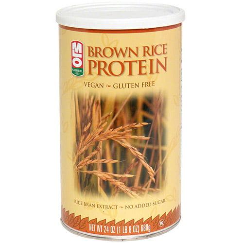 MLO Natural Brown Rice Protein Powder, 24 oz