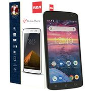 RCA Q2 4G LTE Unlocked Smartphone Android 9.0 (Black)