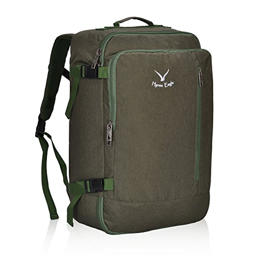 Hynes Eagle 38L Flight Approved Weekender Carry on Backpack by