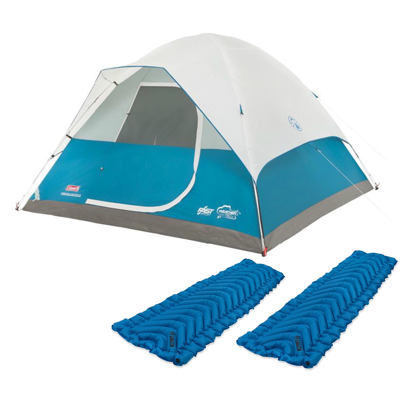Coleman 6 Person C&ing Dome Tent w/ Klymit Static V Ult..  sc 1 st  Nextag & Coleman 5 person instant dome tent | Camping u0026 Hiking | Compare ...