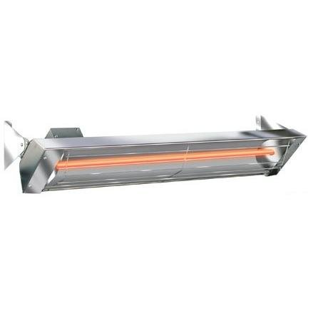 Infratech 61 1 4 Inch W Series All Weather Stainless Steel Heater   4000 Watts   Indoor Outdoor Rated   Energy Efficient