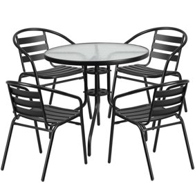 Phenomenal Living Accents S7 Adx10311 Carlisle High 7 Pc Dining Set Dailytribune Chair Design For Home Dailytribuneorg