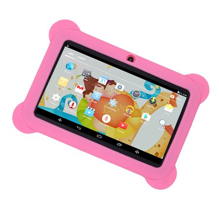 """Kids Safe 7"""" Quad-Core Tablet 512M+8GB WIFI MID Dual Cameras Kid-Proof Case with US Plug (Pink) - image 2 of 5"""