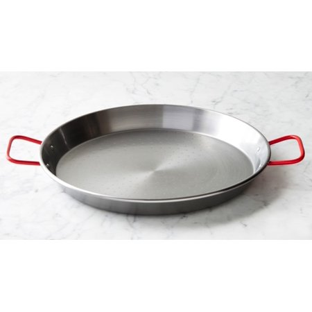 """Paella Steel pan. Paellera 7 servings. 14"""" 36 cm by Garcima"""