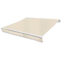 Outdoor Folding Awning 13' x 10' - Cream