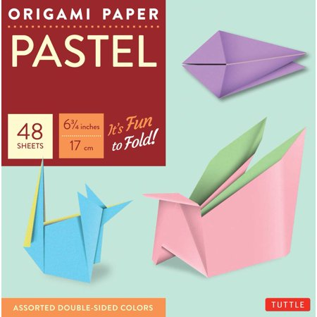 Other Pastels (Origami Paper - Pastel Colors - 6 3/4