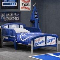 MLB Los Angeles Dodgers Plastic Toddler Bed by Delta Children