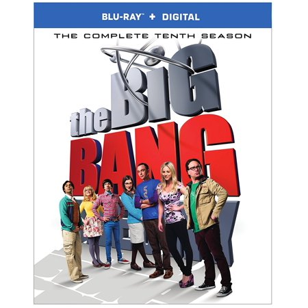 The Big Bang Theory  The Complete Tenth Season  Blu Ray   Digital Hd