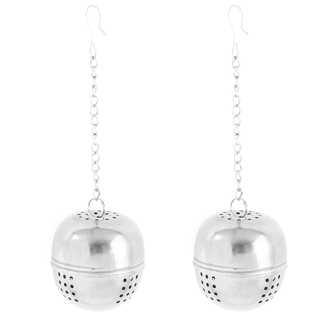 """2 Pcs 1.6"""" Dia Stainless Steel Ball Strainer Tea Leaf Spice Herb Infuser by"""