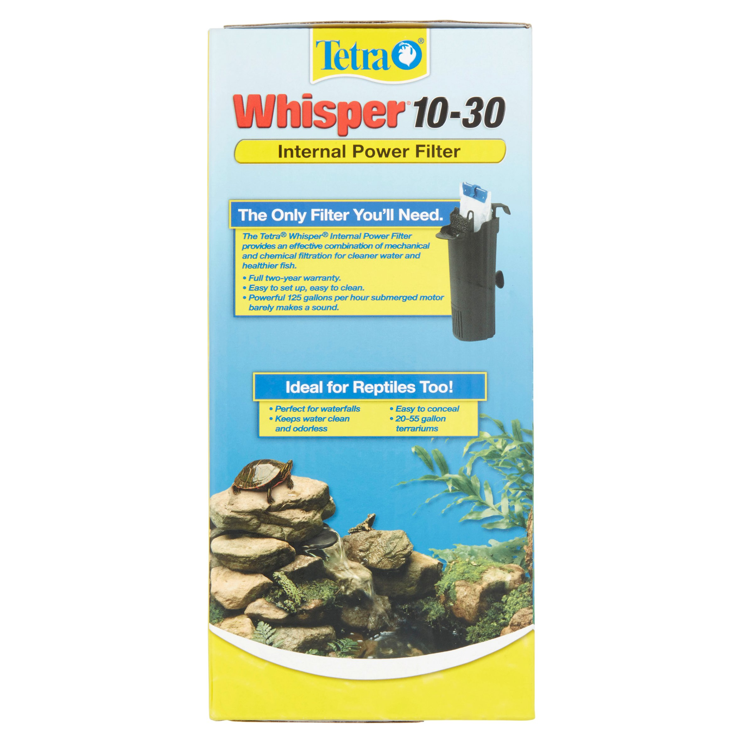 Tetra Whisper 10 30 Gallon Internal Power Filter for Aquariums