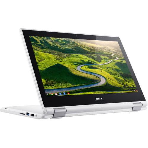 "Acer Chromebook R 11 CB5-132T-C9KK 11.6"" Touchscreen Active Matrix TFT Color LCD Chromebook - Intel Celeron N3160 Quad-core (4 Core) 1.60 GHz - 4 GB DDR3L SDRAM - 32 GB Flash Memory - Chrome OS 6"