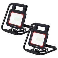 Honeywell LED 3000 Lumen Collapsible Work Light with Rotating Light Head (2 Pack)