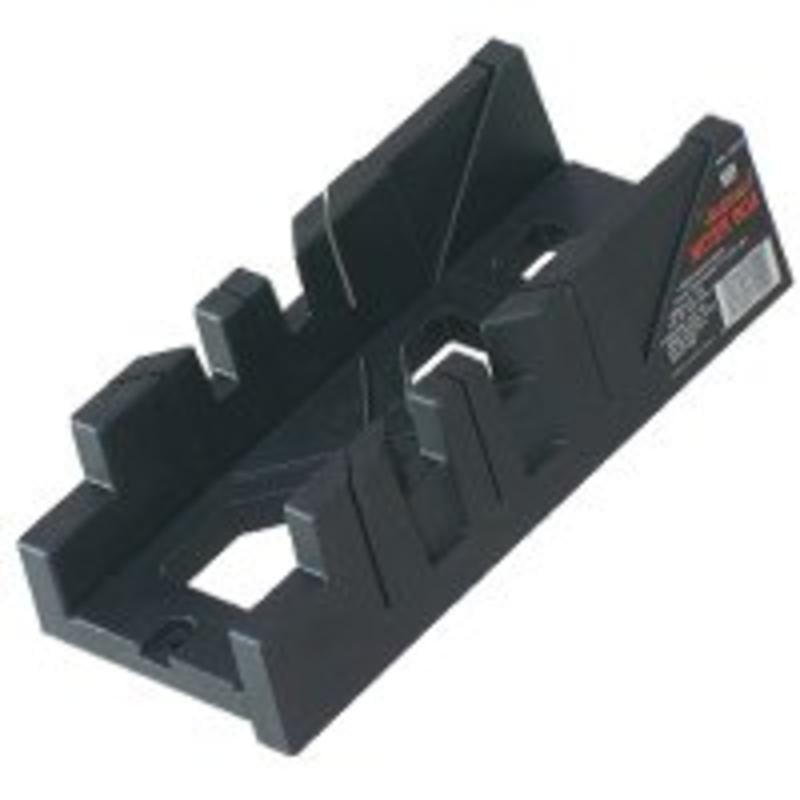 Adjustable Clamp 11-1/4'' Plastic Miter Box 60112