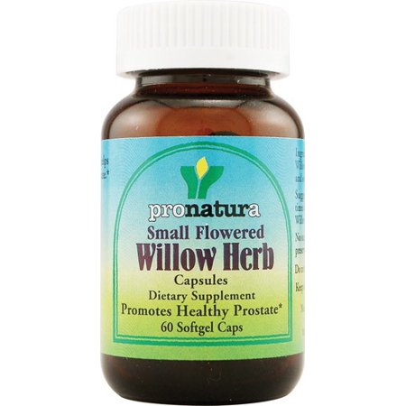 Pronatura Small Flowered Willow Herb 60 Softgel (Small Flowered Willow Herb For Prostate Health)