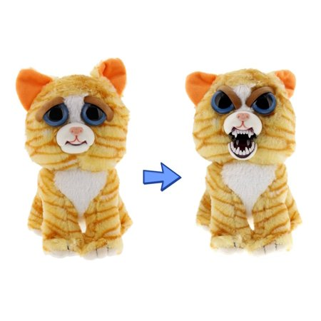 Feisty Pets By William Mark  Princess Pottymouth  Adorable 8  Plush Stuffed Cat That Turns Feisty With A Squeeze