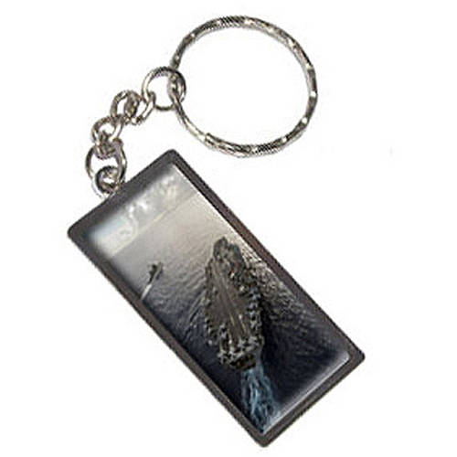 United States Navy Aircraft Carrier Uss George Washington Keychain Key Chain Ring