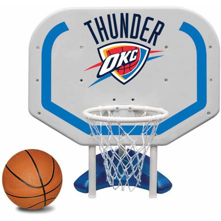 Poolmaster Oklahoma City Thunder NBA Pro Rebounder-Style Poolside Basketball Game