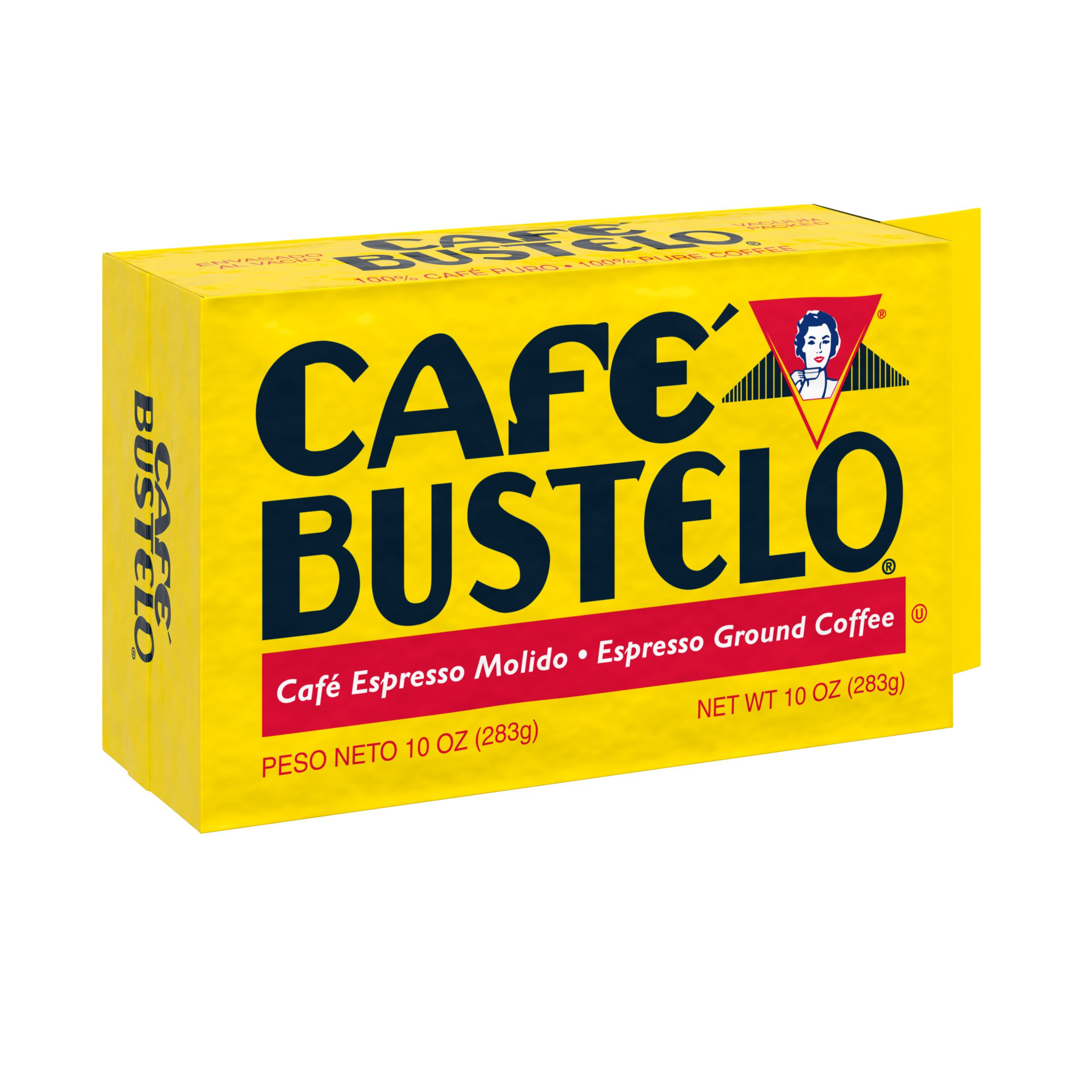 Café Bustelo Ground Coffee, Dark Roast, 10-Ounce Brick