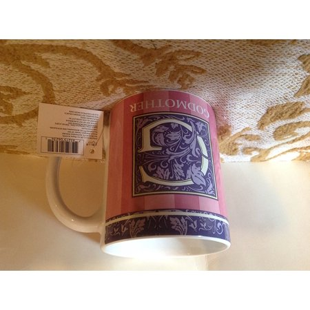 Russ Berrie Ceramic - Godmother Ceramic Mug By, Front of mug reads: G - GODMOTHER By Russ