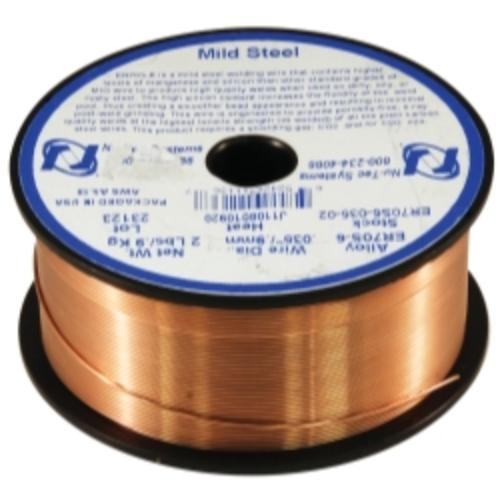 "Mountain ER70S-6-035-02 .035"" Steel Er70s-6 Welding Wire 2 Lb. [4"" Spool]"