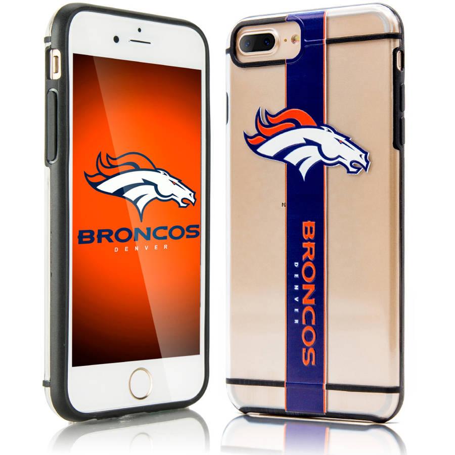 Denver Broncos Acrylic Clear Case For Apple iPhone 7 Plus Phone