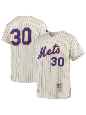 Nolan Ryan New York Mets Mitchell & Ness Cooperstown Collection Authentic Jersey - Cream