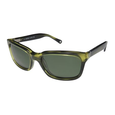New Jack Spade Payne Mens/Womens Rectangular Full-Rim Polarized Striated Green Gorgeous Brand Name Affordable Classic Frame Polarized Green Lenses 51-18-140 Flexible Hinges (Affordable Sunglasses Brands Philippines)